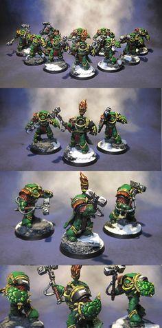 Preheresy Salamanders Space Marines Terminators
