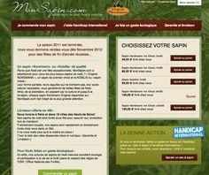 www.monsapin.com (magento)  site de vente de sapin de noel