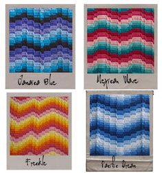 10 Not Your Nana's Needlework Patterns These could easily become Bargello