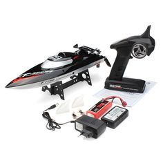 99.95$  Watch here - http://ali2g3.worldwells.pw/go.php?t=32539670549 - 45KM/H,Free Shipping 2015 hot sale 100% original FT012 Upgraded FT009 2.4G Brushless RC Boat remote control boats for kid toys 99.95$