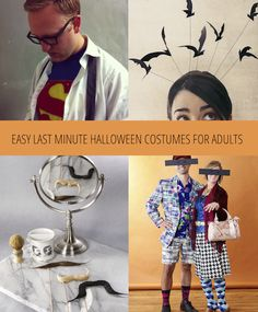 Aug 06,  · Ever spend hours deciding how to dress your kid for Halloween, only to realize you don't have a costume for yourself? We asked our favorite bloggers for easy, DIY adult costume Author: Marissa Laliberte.