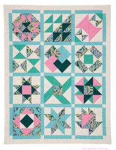 How to make 1/2-square triangles the easy way by Nancy Zieman