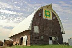Barn quilt in Wellsburg, Iowa by roxie