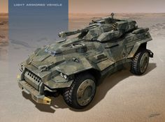 Light Armored Vehicle by *SID75 on deviantART