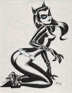 Catwoman Retro By Bruce Timm