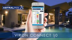 AstralPool Viron Connect System & Connect My Pool App Spa Accessories, Backyard Pools, Pool Spa, Home Automation, Swimming Pools, Connection, Australia, App, Simple