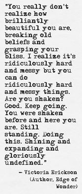 It is hard and it is messy...but so worth it!