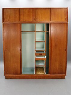Danish Modern Teak Wardrobe - Did I just pass out? I think so.