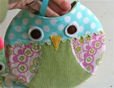 Owl purses. Gotta love gingercake! projects
