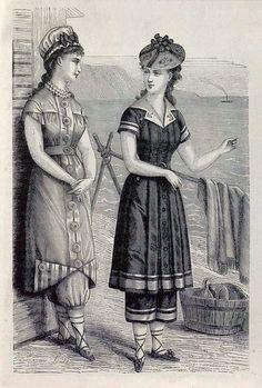 The Non-Chronological Museum of Fashion and Art - decimonono: 1878. La moda elegante ilustrada....