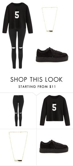 """""""Casual"""" by anouklr ❤ liked on Polyvore featuring Topshop and Edge of Ember"""