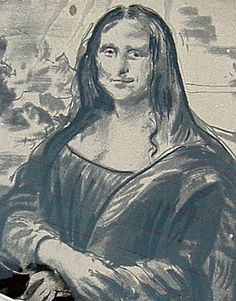 The Mona Lisa. Dirty Windscreen Art. Turtle Wax.