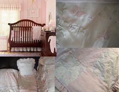 Wendy Bellissimo Butterfly Love Crib Bedding
