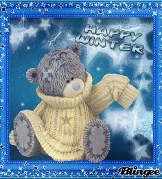 Teddy Bear - Happy Winter!