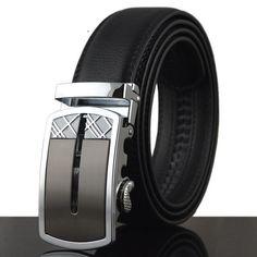 Belt - Silver Opened Buckle - $34.99   #cufflinks #menswear #men #ascot #bowtie #shoes #mensfashion #tie