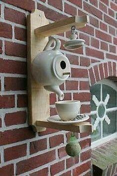 Интересные идеи садового декора