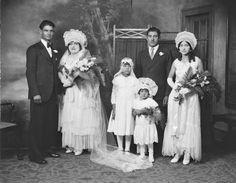 1931 Wedding party