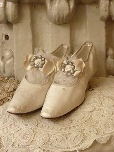 Victoriaanse bruidsschoentjes (Victorian Bride Shoes)