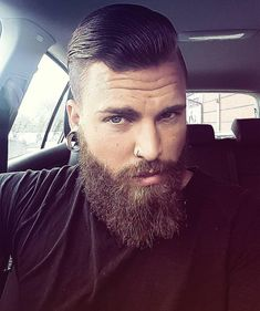 Amazing Wet Hairstyles For Handsome Groom 04 Older Mens Hairstyles, Wavy Haircuts, Slick Hairstyles, Great Beards, Awesome Beards, Hair And Beard Styles, Hair Styles, Beard Head, Brylcreem