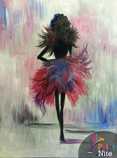 Paint Nite Honolulu | Eleven44 @1144 Bethel | 03/13/15 | Whatever Lola Wants by Andrea Soto