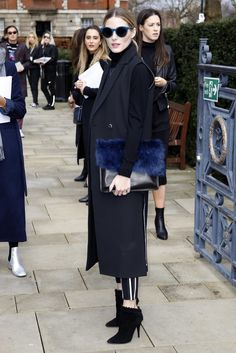 Olivia Palermo at Fashion Week Fall 2016 | POPSUGAR Fashion