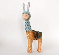 bunny art doll by Sweet Bestiary