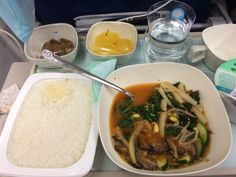 Had good meals on #koreanair 12/15