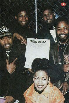 Dougie Fresh,  Kurtis Blow, Ms Jones, & Ghostface  Classic Hip Hop pic; if you ask me