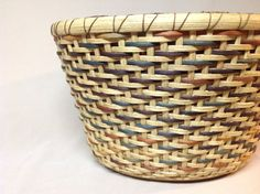 Hand Woven Multicolored Oval Basket Accents of by DiannesBaskets, $41.00