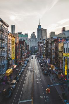 Chinatown, New York City.