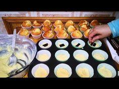 مادلين أو مافن مثل المحلات مع سر صغير موجود في كل بيت لنجاح الوصفة 🧁 - YouTube Muffins, Cap Cake, Beignets, Sweets, Cakes, Breakfast, Food, Youtube, Kitchens