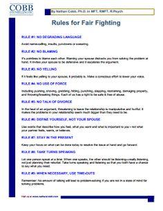 25 Ways to Fight Fair