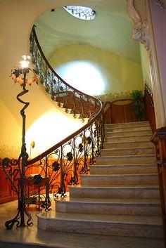 art nouveau staircase - Novelda, Costa Blanca (ES) | JV