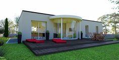 Les Demeures de Province de Normandie : modele maison Maison Actuelle Lumicène Eure (27) | CGIE