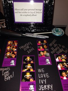 Scrap book from Photo Booth event #SocialButterflyPhotos