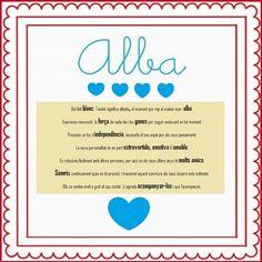 Alba: significat del nom