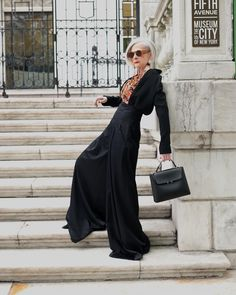 This Beautiful 63-Year Old Professor Accidentally Became A Fashion Icon And I'm Here For It