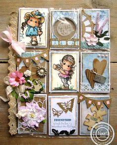 Design/ love the banners Scrapbook Journal, Scrapbook Supplies, Journal Cards, Pocket Pal, Pocket Cards, Side Step Card, Step Cards, Magnolia Stamps, Pocket Scrapbooking