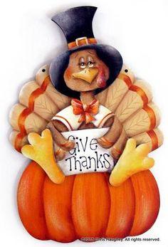 Give Thanks Turkey Ornament Pattern – Cupboard Distributing Turkey Drawing, Turkey Painting, Autumn Painting, Tole Painting, Turkey Art, Turkey Time, Autumn Art, Thanksgiving Pictures, Thanksgiving Art