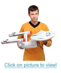 Star Trek U.S.S. Enterprise Inflatable Geek #Toys #Action #Figures #Collectibles
