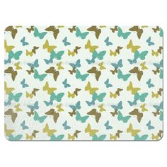 Uneekee Time of the Butterflies Placemats