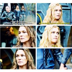 "#The100 2x08 ""Spacewalker"" - Clarke and Abby"