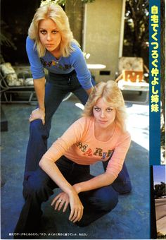 Marie and Cherie Currie byBrad Elterman