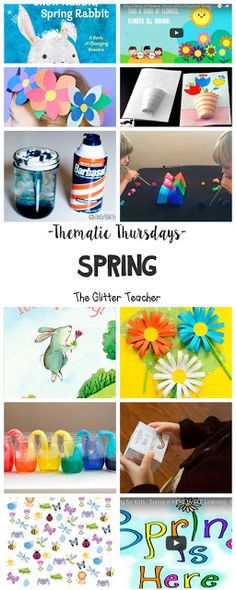 The Glitter Teacher: Thematic Thursdays: Spring Kindergarten, Preschool, Arts And Crafts, Teacher, Spring, Ideas, Primary Education, Printables, Short Stories