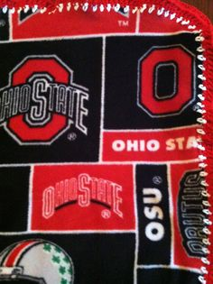"Ohio State Buckeyes Football Fleece Sports Baby by CozyKrafts, $20.95 So many teams to choose from for the little sports ""Fan"" in your life!"
