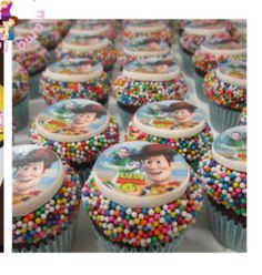 toy story cupcakes Toy Story Cupcakes, Cupcake Wars, Toys, Desserts, Activity Toys, Tailgate Desserts, Deserts, Clearance Toys, Postres