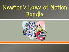 Everything you need to teach Newton's Laws of Motion! TEN of my most popular Newton's Laws Resources. All of the activities, labs, and projects included in this bundle are LOW PREP and designed to keep your students actively engaged!