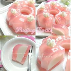 Pudding Desserts, Pudding Recipes, Progressive Car Insurance, Agar, Doughnut, Jelly, Panna Cotta, Beverages, Food And Drink