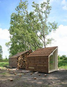 Flake house, Nantes, France  by Olgga Architects (2009)