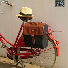 Charley Vintage Style Pannier | Cyclechic | Cyclechic